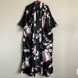 Other - Old Shanghai silky kimono robe OS